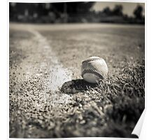 Baseball on the Edge Poster