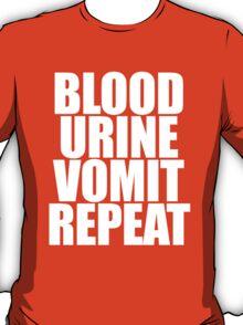 Brock Lesnar - Blood Urine Vomit Repeat T-Shirt