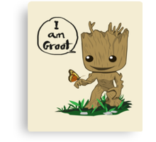 Guardians of the Galaxy - I Am Groot! Canvas Print