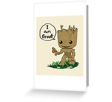 Guardians of the Galaxy - I Am Groot! Greeting Card