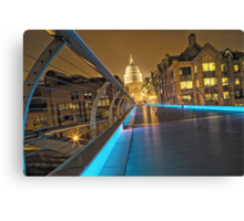 Millennium Bridge, London, England Canvas Print