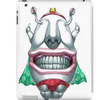 ojama king yugioh iPad Case/Skin
