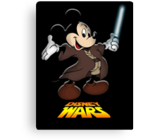 Disney Wars Canvas Print