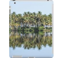 Palm Trees Reflected iPad Case/Skin