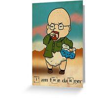 Baby Heisenberg Greeting Card
