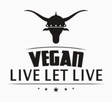 Vegan Live Let Live Kids Clothes