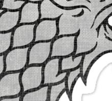House Stark Direwolf Sigil Sticker