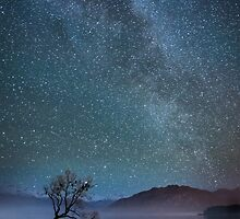 Lake Wanaka Milkyway by focuscreative