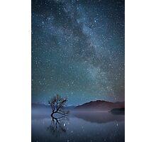 Lake Wanaka Milkyway Photographic Print