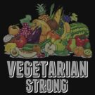 Vegetarian Strong by T-ShirtsGifts