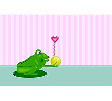 Frog King Photographic Print