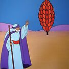 Moses and the Burning Bush by Shulie1