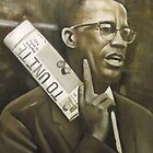 Malcolm X PAINTING by paintingsbycr10
