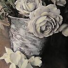 Roses in Birch by Barbara Wyeth
