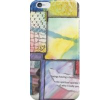 Gift of Spiritual Sparkle iPhone Case/Skin