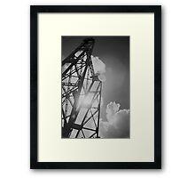 Vertical Truss Framed Print