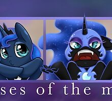 Phases of the Moon by hobbutt