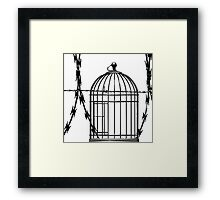 FREE FREEDOM! Framed Print