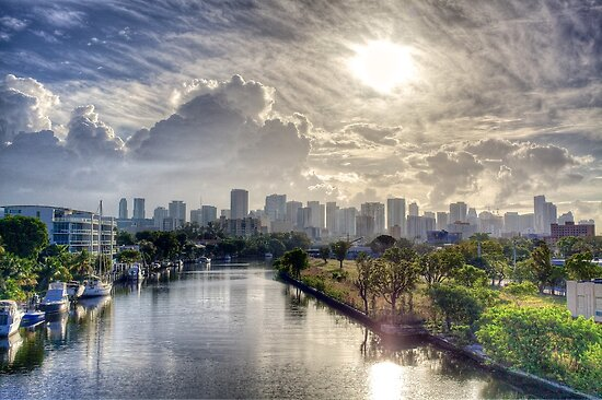 Miami Morning by njordphoto