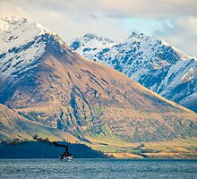 Earnslaw Steamship by Adrian Alford Photography