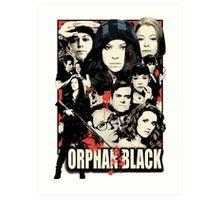 Orphan Black - Noir Art Print