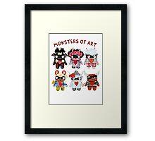 Monsters of Art Framed Print