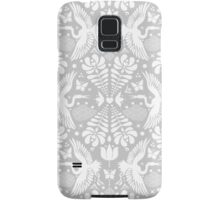 As the crane flies in Grey Samsung Galaxy Case/Skin