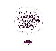 The World is Not a Wish Granting Factory Photographic Print
