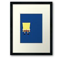 Minimalist Sponge Framed Print