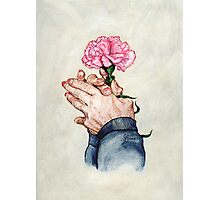 Hands of Time (Acrylic Painting) Photographic Print