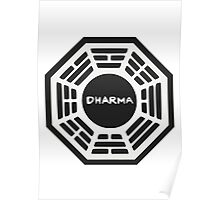 LOST: Dharma Logo Poster