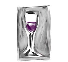 Grab A Glass, I Just Opened A New Box Photographic Print