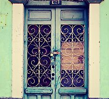 Casco Antiguo, Panama-- Old Door #4 by Dominique Wiese