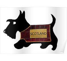 Commonwealth Games Opening Ceremony Scottie Dog 'Scotland' Poster