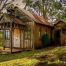 A very old Church by Gerard Rotse