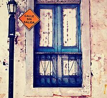 Casco Antiguo, Panama-- Old Window #1 by Dominique Wiese