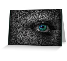 Visions In The Dark Greeting Card