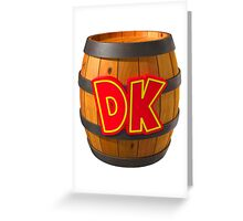 DK Barrel Greeting Card