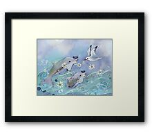 Dolphin Gifts Framed Print