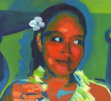 Maui Woman. Tribute to Gauguin by ArtspaceTF