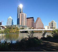 Austin Skyline by OvaryActing
