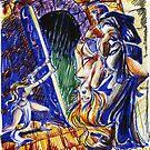 Conan-fantasy illustration 2 by Francesca Romana Brogani