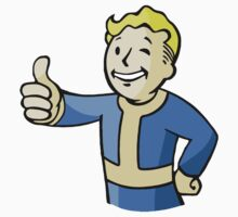 Fallout Vault Boy by Mafghan