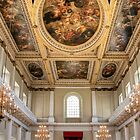 The Rubens Ceiling at the Banqueting House, London by Christine Smith