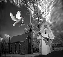 OH I'D LIKE TO GO BACK TO THAT OLD COUNTRY CHURCH-AND HEAR THE SONGS OF PRAISE - PILLOW / TOTE BAG by ✿✿ Bonita ✿✿ ђєℓℓσ