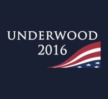House of Cards - Underwood for President 2016 by andrewstames