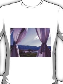 Rays of Light Between Curtines T-Shirt