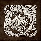 dragon and egg by Richard Morden