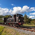 Steam Locomotive Ajax by manateevoyager