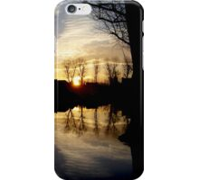 Lonely Tree During Sunrise - Nature Photography iPhone Case/Skin